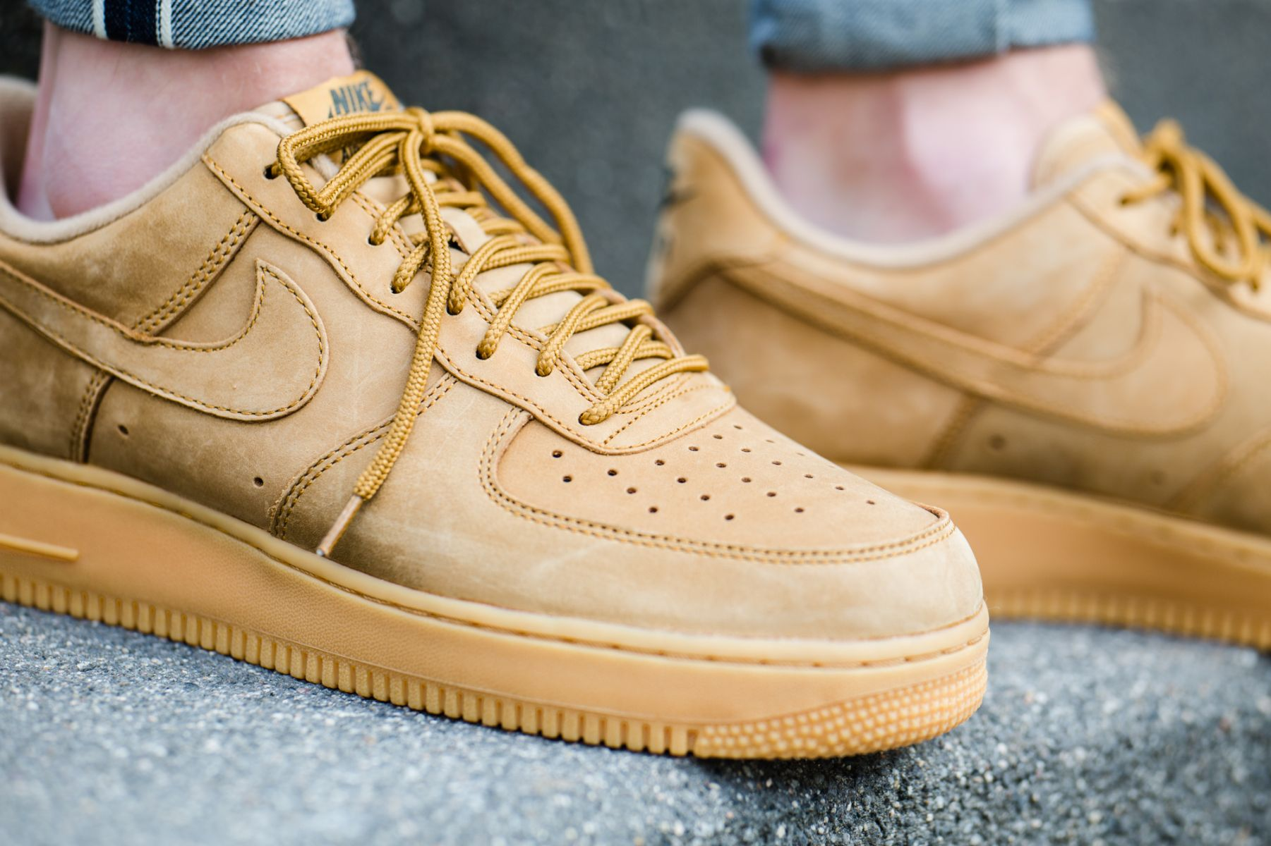 Nike Air Force 1 Low Flax AA4061 200 Release Date