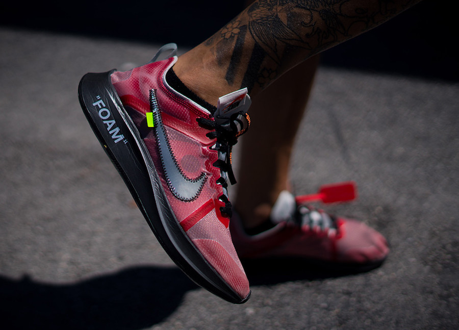 Sample Off-White Nike Zoom Fly SP Seen