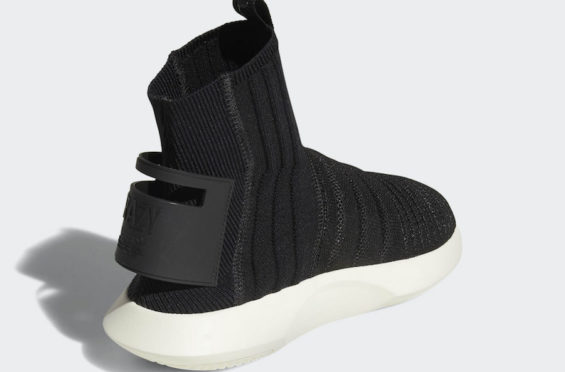 online store 21b35 16c7c Retailing for 150, look for the adidas Crazy 1 ADV Primeknit Sock Core  Black at select adidas stores and online on October 1.