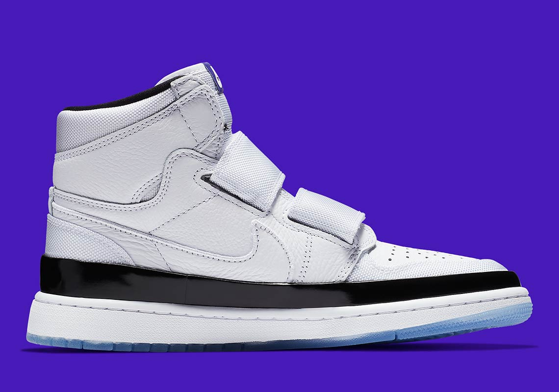 25e21b65195 The Air Jordan 1 Double Strap Will Make Concord Lovers Proud