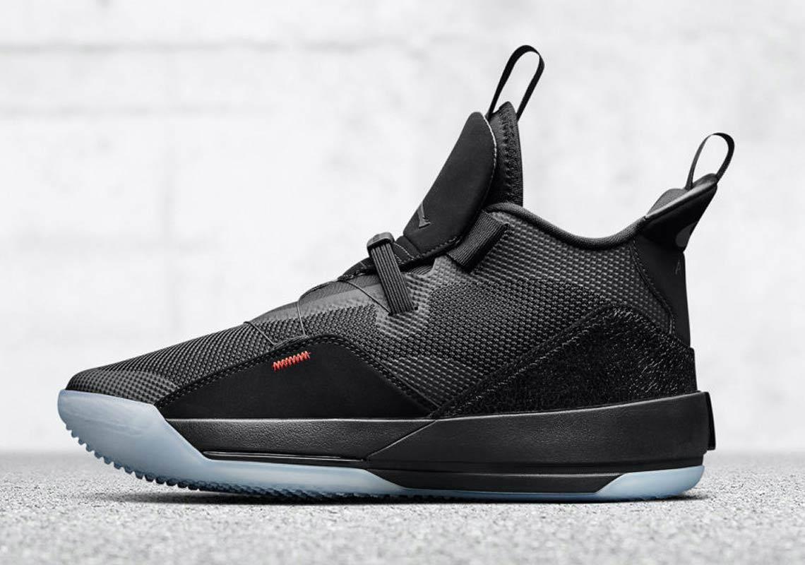 "more photos cdb94 1d169 Air Jordan 33 ""Tech Pack"" Release Date  October 1, 2018 (China Exclusive)   175. Color  Black Black-Dark Smoke Grey-Sail"