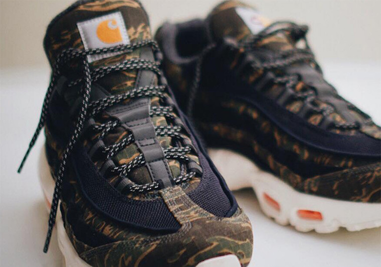 d21157e17bd525 Take a first look at the Carhartt x Nike Air Max 95 above and expect the  collaborative pack to release December 6.
