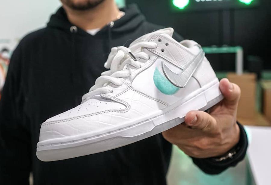 Nike Dunk SB Low Diamond Supply Co. Tiffany nel 2020