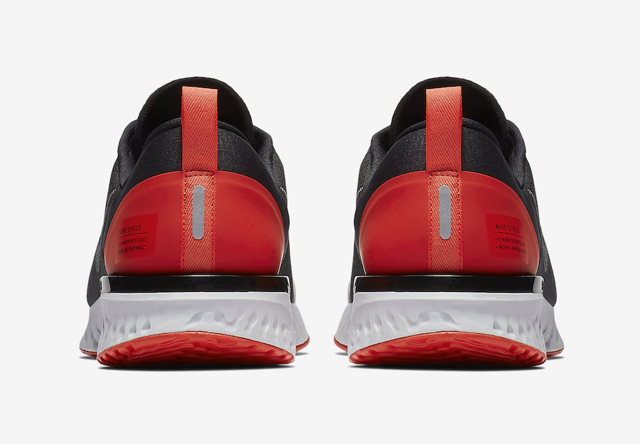 """474424506a9e74 Nike Odyssey React Shield NRG Release Date  November 2018. Price   130.  Previous articleNike Cortez Premium Dons """"Red Orbit"""" Next Month"""