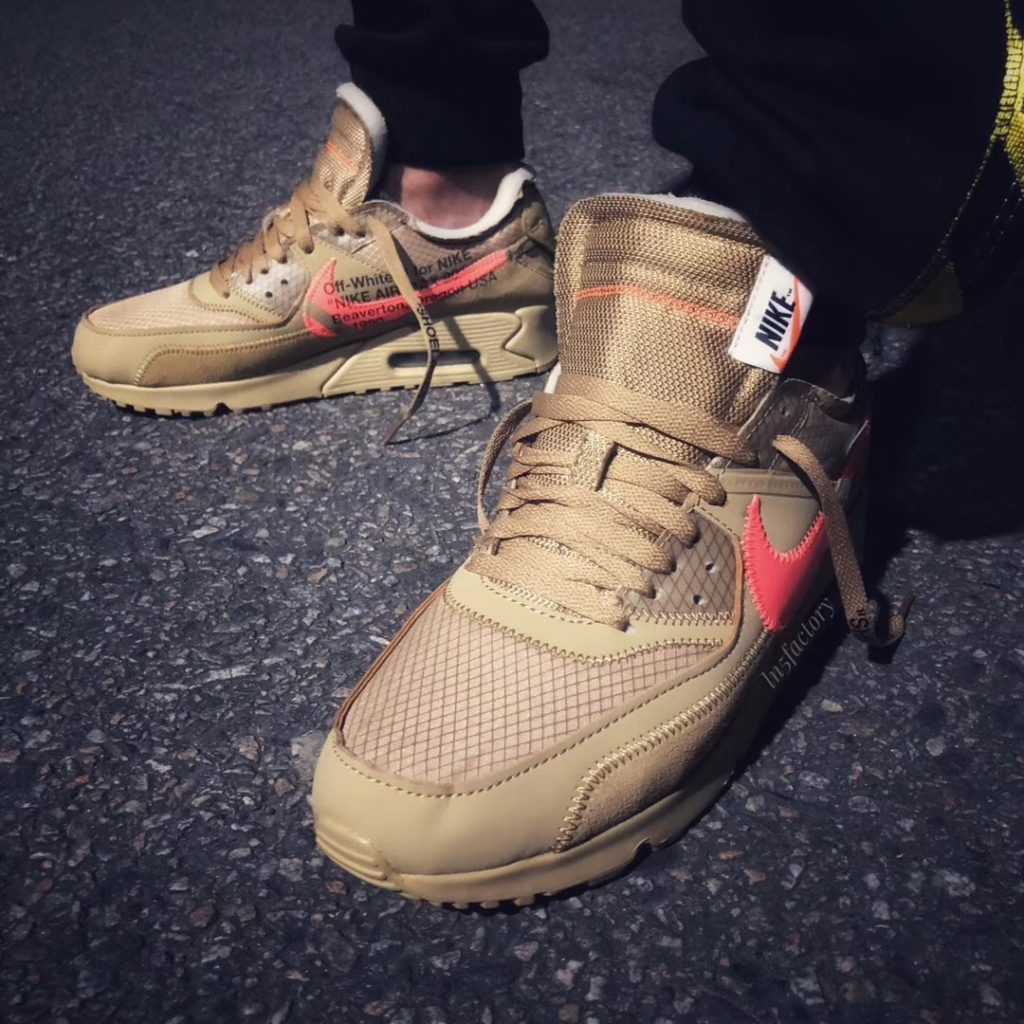 nike air max 90 off white release date 2019