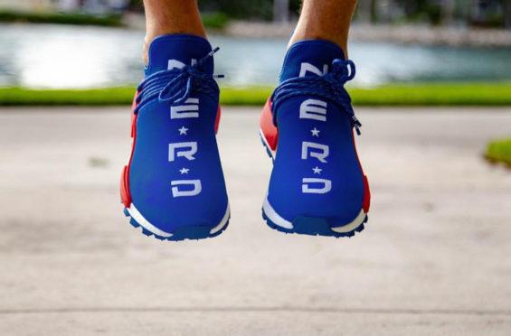 Pharrell x adidas NMD Hu NERD Blue