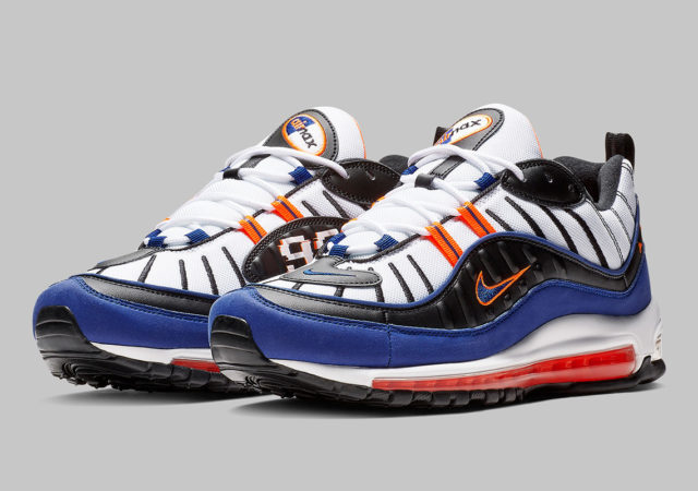 sale retailer 93feb 90f35 New York Knicks Colors on New Air Max 98s   KaSneaker