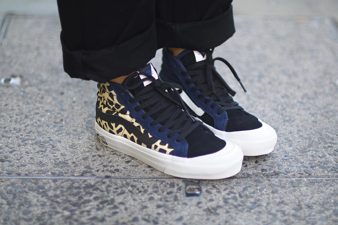 2d02d4cf8f Taka Hayashi x Vans Vault Style 138 LX co-branded series