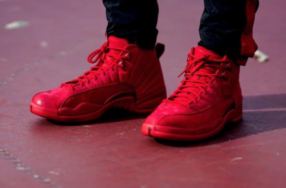 Get The Air Jordan 12 Bulls (Gym Red