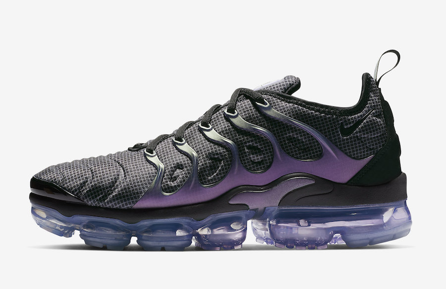 "715ca3e4efa The Nike Air VaporMax Plus ""Eggplant"" colorway is expected to release in  the coming weeks for  190 USD at Nike s web store and select retailers."