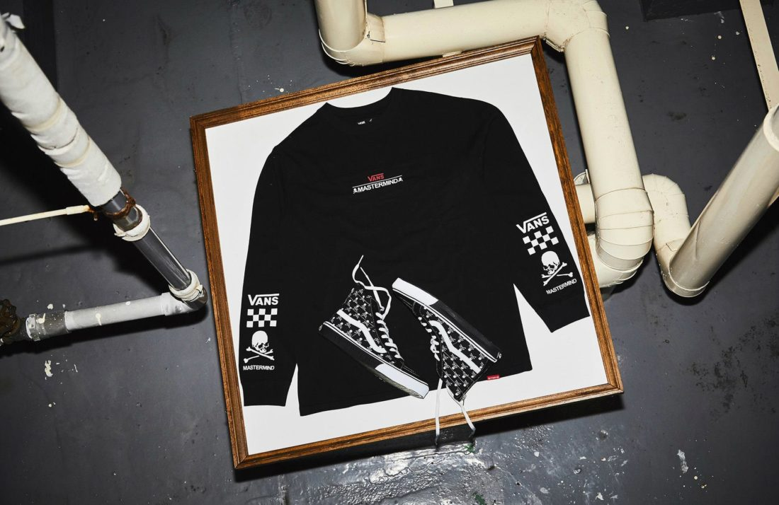 a32cac5d59 Mastermind JAPAN x Vans 2018 joint collection