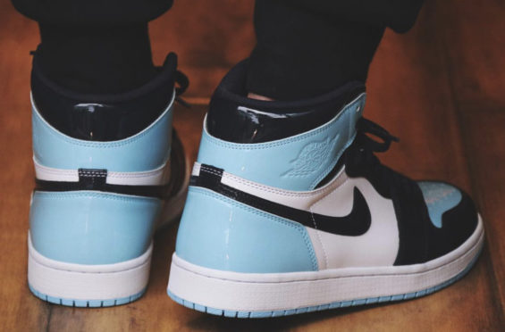 621d84ddd5a Air Jordan 1 WMNS Retro High OG UNC Patent