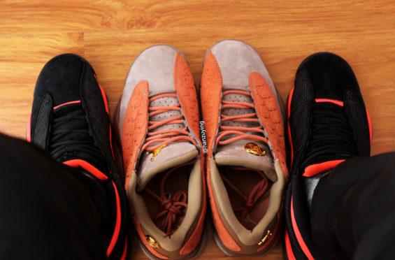 Air Jordan 13 Low Infra Bred   KaSneaker