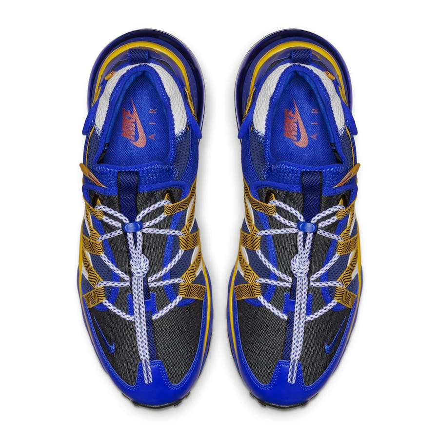 Nike Air Max 270 Bowfin Releasing In Warriors Colors Kasneaker