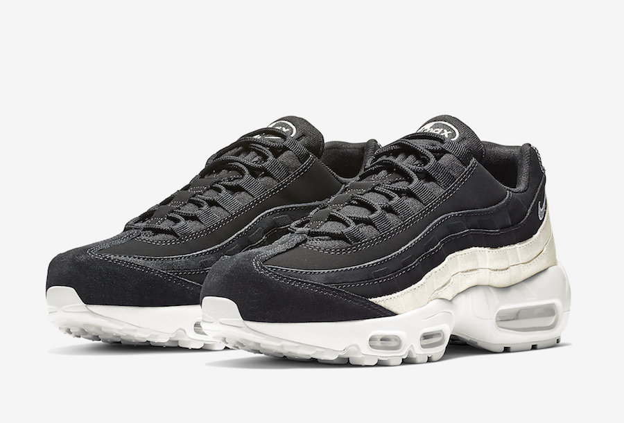549aad180465d Black And White Cover This Nike Air Max 95