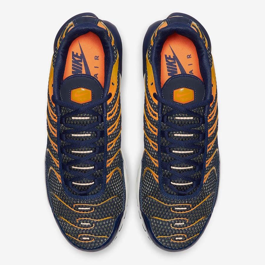 Nike Air Max Plus Returns In Blue Void Total Orange Kasneaker