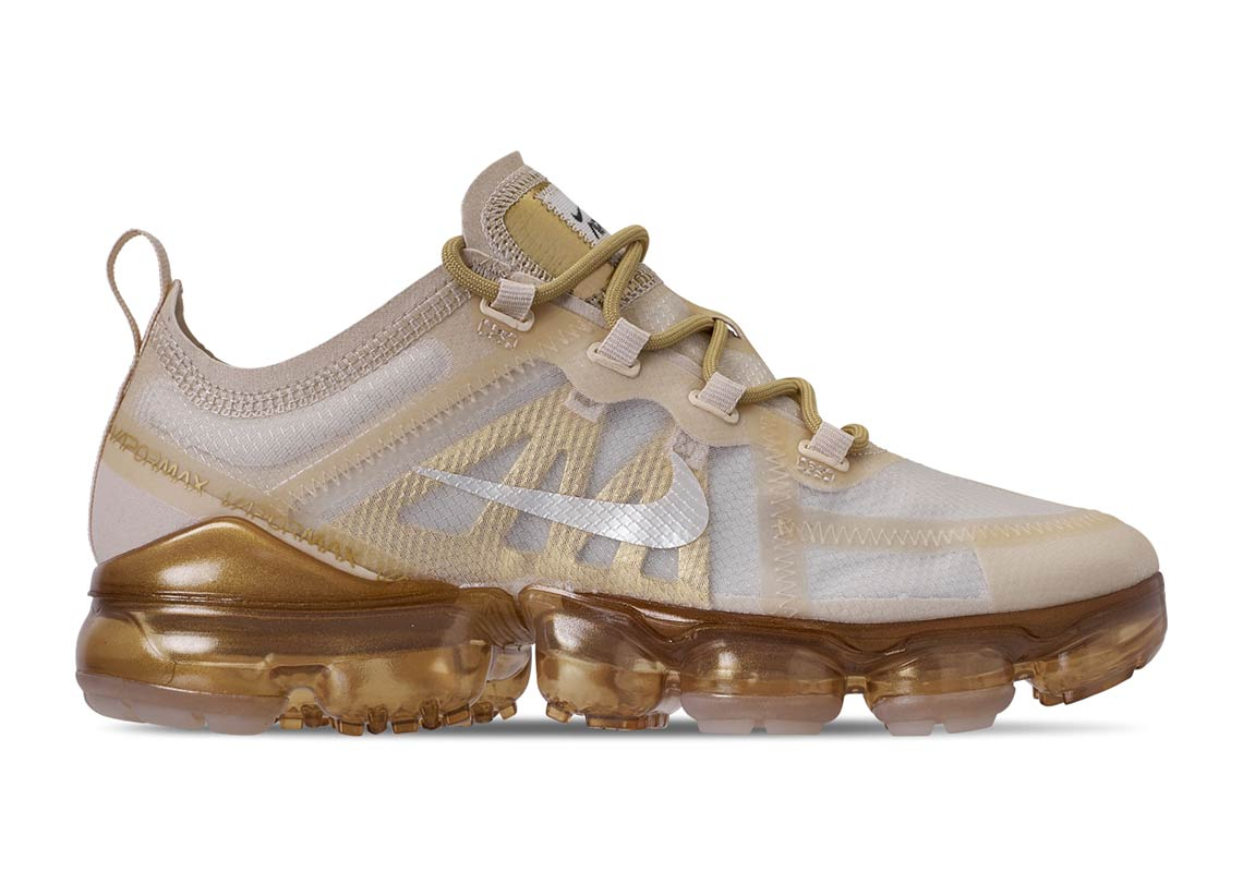 9f8d010df84 Nike Air VaporMax 2019  White Gold  Releasing Soon