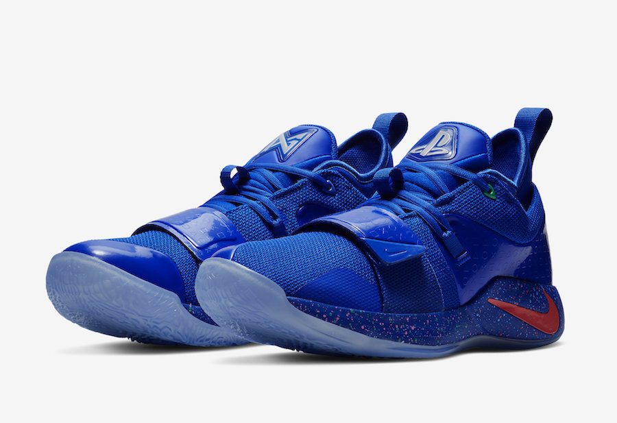 492bea5de61 Paul George s love for gaming results to Nike releasing another PlayStation- themed colorway of the PG 2.5 ...