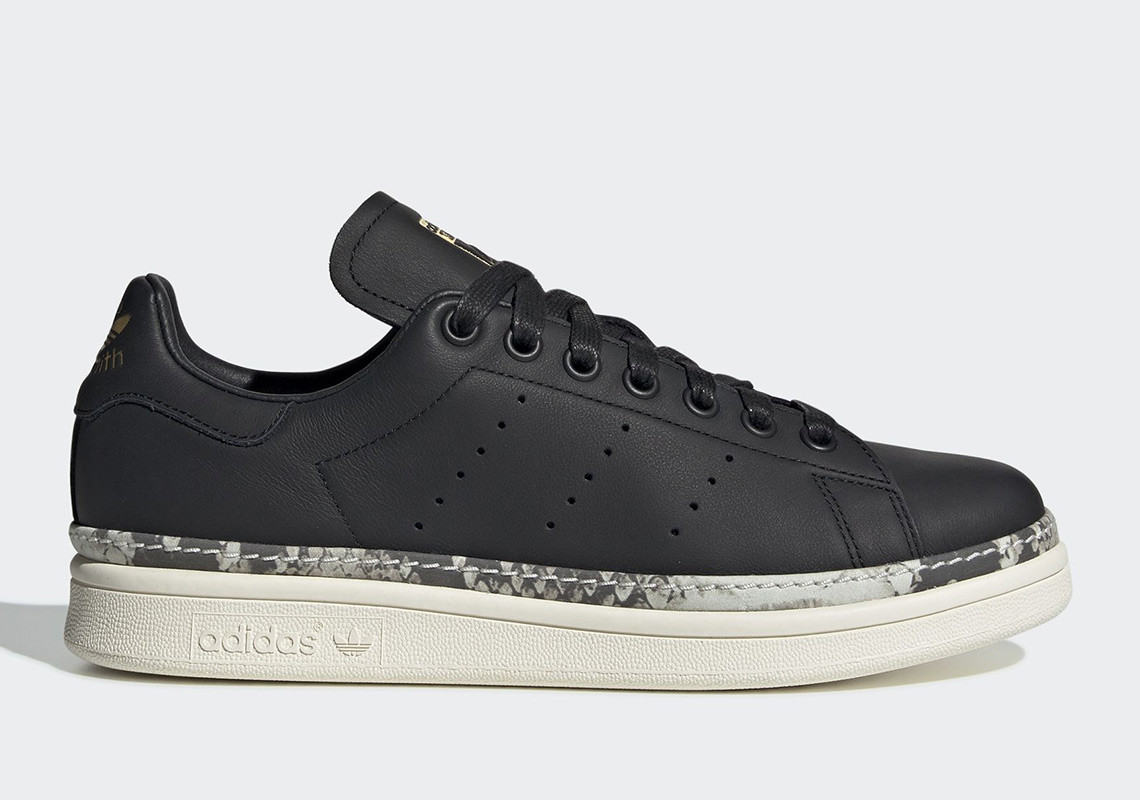 The adidas Stan Smith Bold For Women Adds Snakeskin Details ...