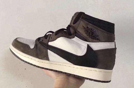 best sneakers b7070 be1ee New Images Of The Travis Scott x Air Jordan 1 Retro High OG
