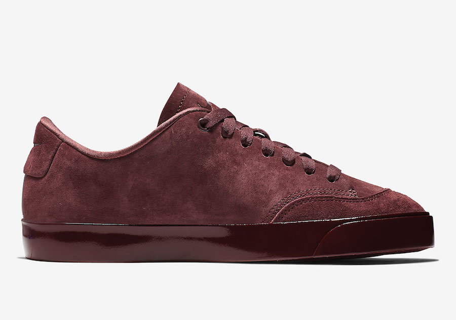 Nike Blazer City Low Gets Dipped In Deep Burgundy Kasneaker