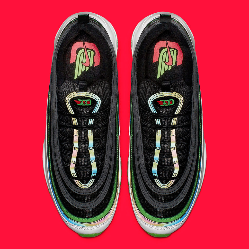 """b823307e586b Look for the Nike Air Max 97 """"Dallas"""" to release on March 1st at select Nike  Sportswear retailers and Nike.com. The retail price tag is set at  160 USD."""