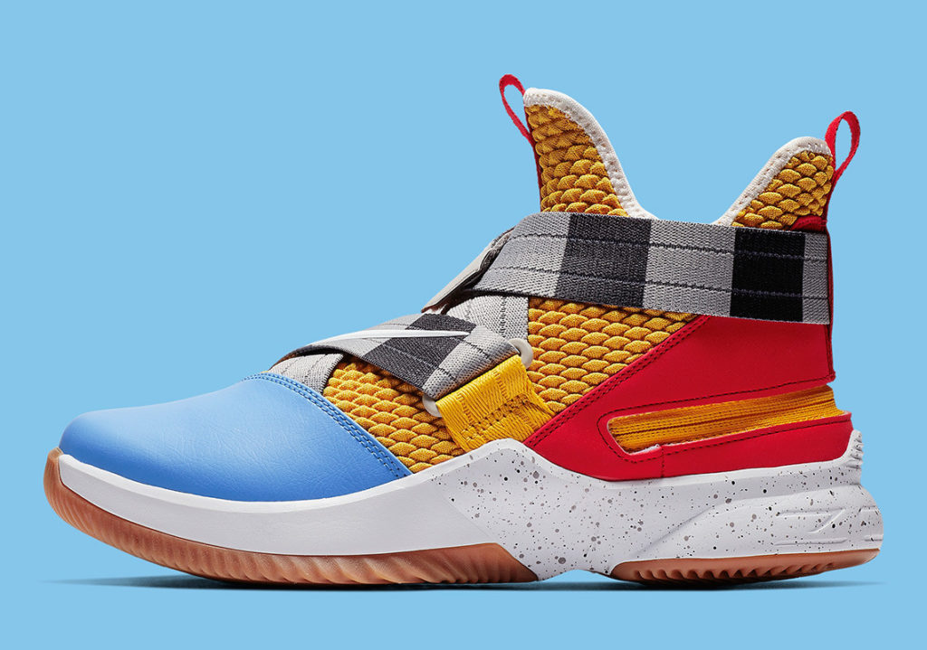 """ee266b65813 Interested fans can purchase the The LeBron Soldier 12 """"Arthur"""" at select  retailers and over at nike.com for  130 USD."""