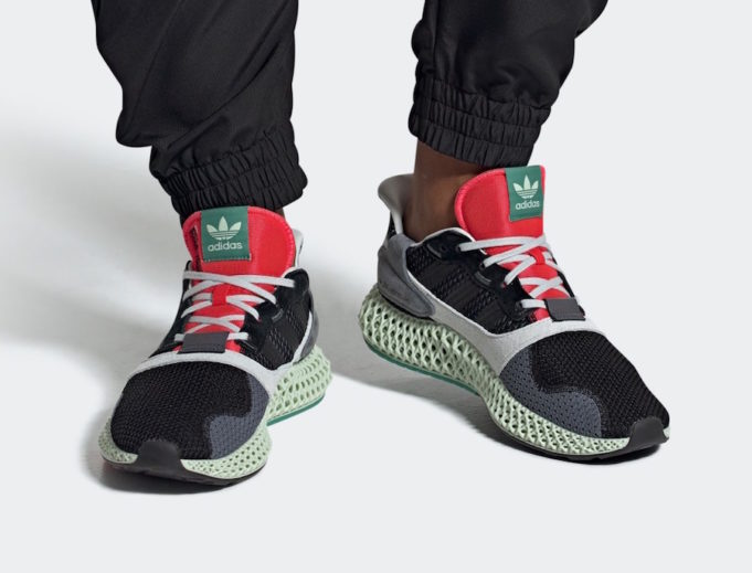 b01063cd9ff93 The adidas ZX 4000 4D Black Onix Releases Next Week