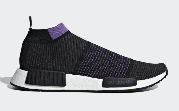 56b13f7ed6785 adidas NMD City Sock Black Purple Coming Soon