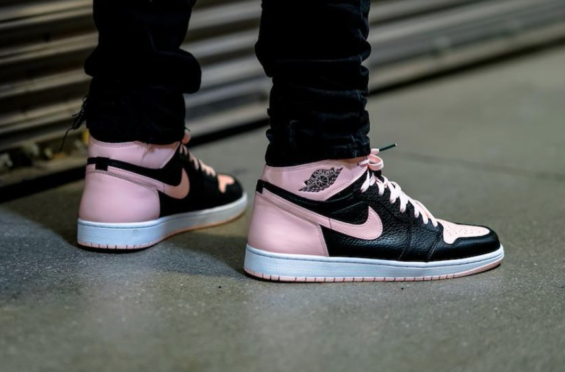 the best attitude f46a6 aa861 The shape of this sneaker is very formal and beautiful. Easter is almost  here, and the Air Jordan 1 Retro High OG Crimson Tint ...
