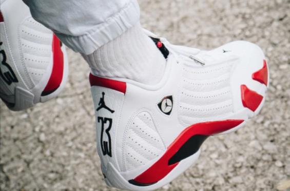 Air Jordan 14 Candy Cane 2019 | KaSneaker