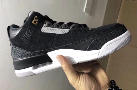 more photos 22852 f9992 Air Jordan 3 Tinker Black Cement   KaSneaker