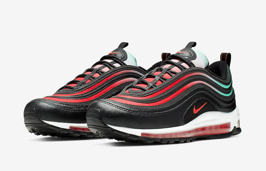 huge selection of 295cc aee31 Nike Air Max 97 Releases in Ember Glow and Blue Fury   KaSneaker