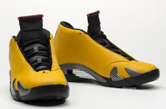 6d73512b4d7 Air Jordan 14 Reverse Ferrari (Yellow Ferrari) Arriving Next Weekend ...
