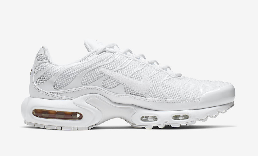 cheap for discount f4250 fb753 Coming Soon: Nike Air Max Plus White Removable Swoosh ...