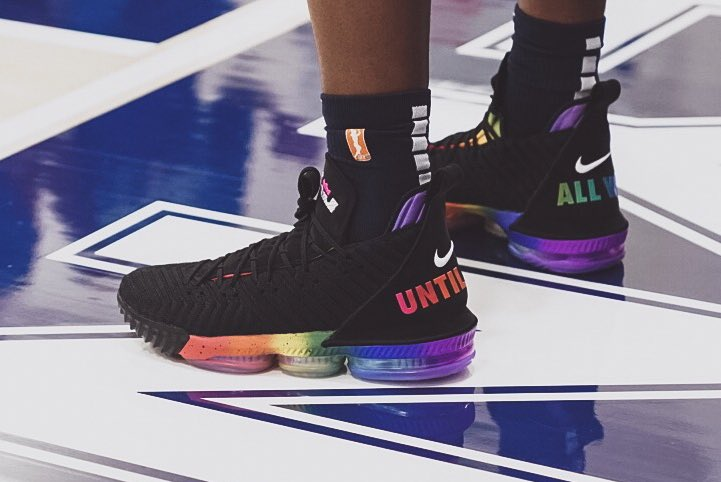 Take A Look At The Nike LeBron 16 Be True   KaSneaker