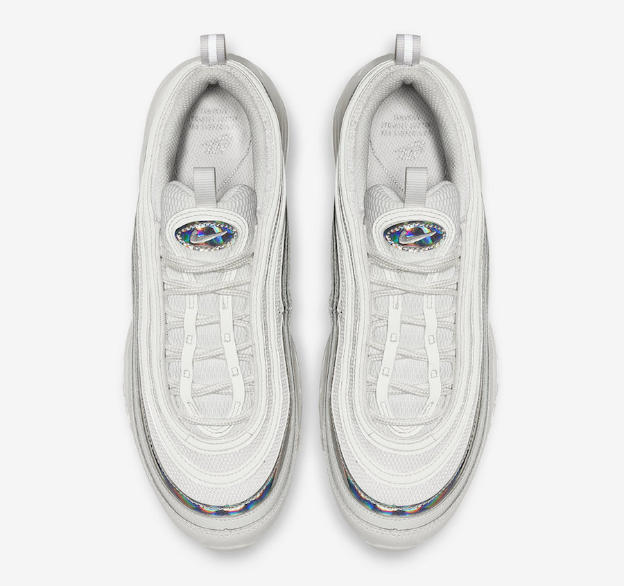 Nike Air Max 97 Releasing in White with Silver Iridescent