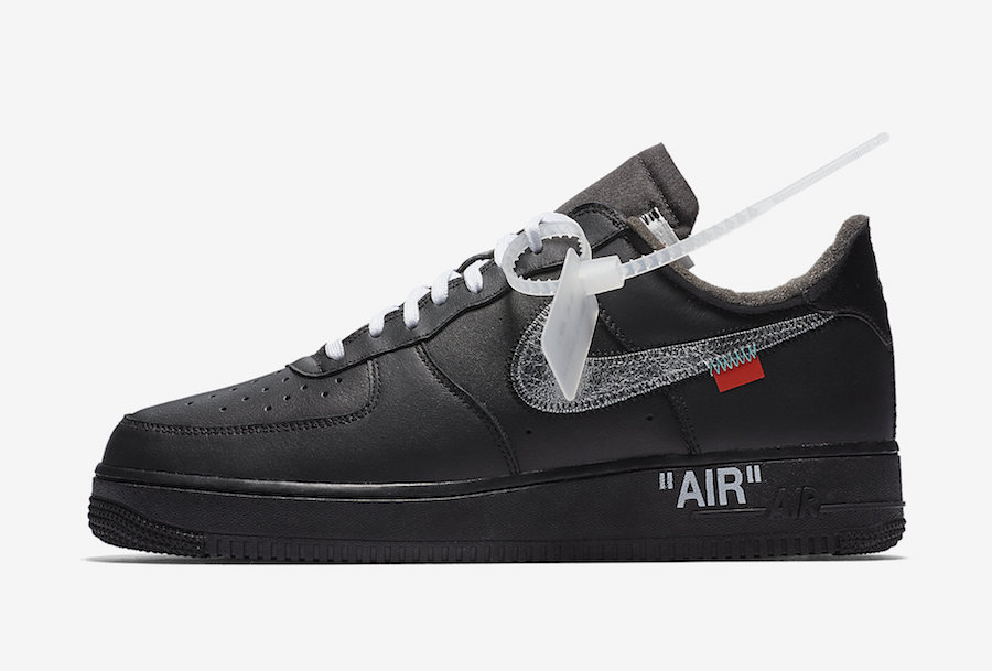 Off White x Nike Air Force 1 'MoMA' Official Images | KaSneaker