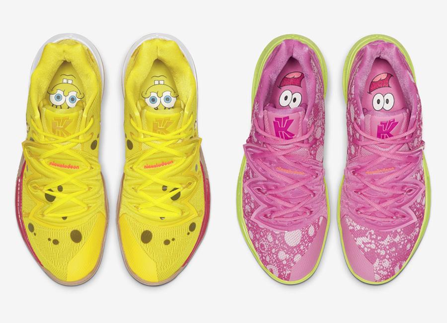 SpongeBob SquarePants x Nike Kyrie 5
